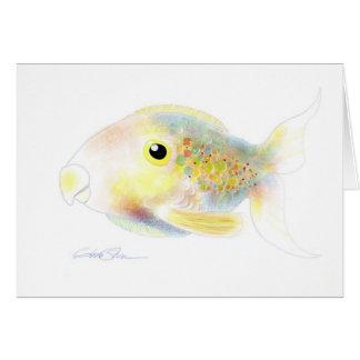 Fantasy Fish: Polly Card