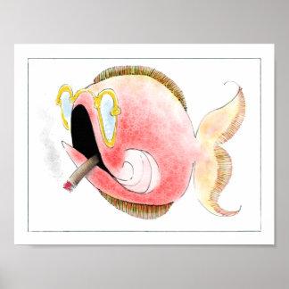 Fantasy Fish Poster: Cecil