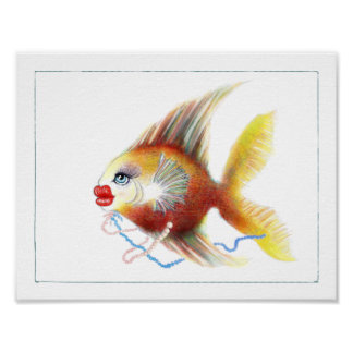 Fantasy Fish Poster: Dolly Poster
