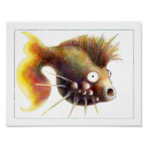 Fantasy Fish Poster: Sid Fishious Poster
