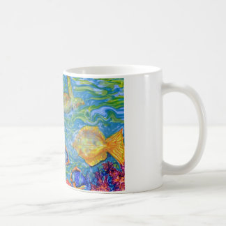 Fantasy Fish Tank Art Coffee Mug