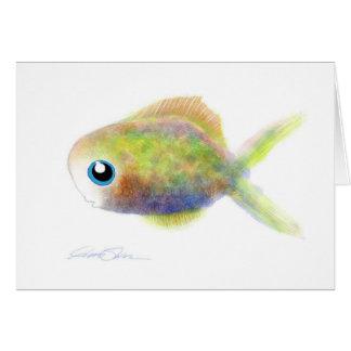 Fantasy Fish: The Blue-Eyed Boy Card