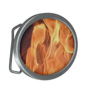 Fantasy Flamming Fire Belt Buckle