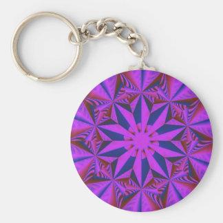 Fantasy Floral keychain