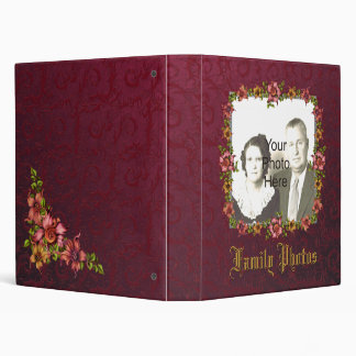 Fantasy Floral Photo Album / Scapbook Cover Binders