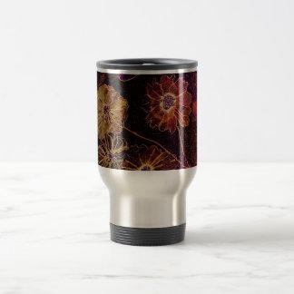 Fantasy Floral Watercolor Coffee Mugs