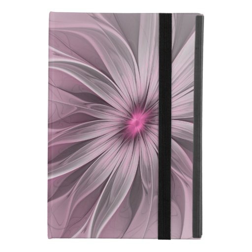 Fantasy Flower Abstract Plum Floral Fractal Art iPad Mini 4 Case