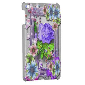 Fantasy Flower Garden Frame iPad Mini Cases