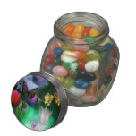 Fantasy flower garden jellybean jars and tins jelly belly candy jars