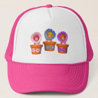 Fantasy Flower Pot Trucker Hat