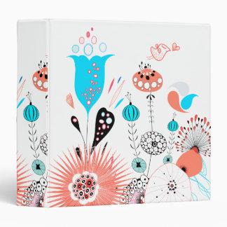 Fantasy Flowers and Birdie Binder