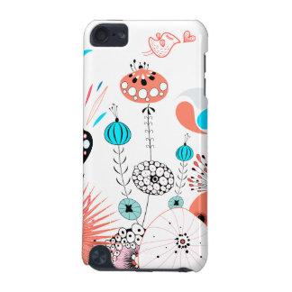 Fantasy Flowers and Birdie iPod Touch (5th Generation) Cases