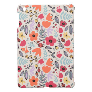 Fantasy flowers cover for the iPad mini