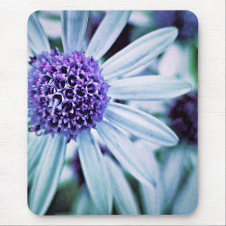 Fantasy Flowers in purple Mouse Pad