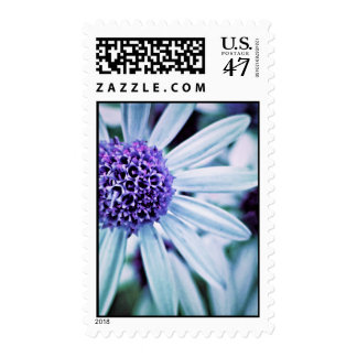Fantasy Flowers in purple Postage