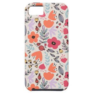 Fantasy flowers iPhone SE/5/5s case