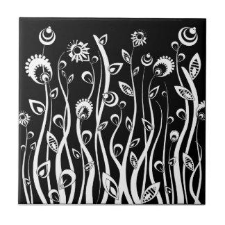 fantasy flowers tile