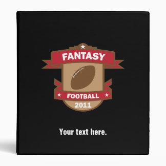 Fantasy Football 2011 Custom Binder