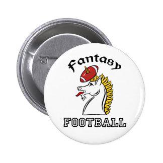 Fantasy Football 2 Inch Round Button