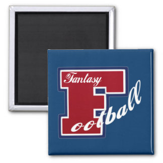 Fantasy Football 2 Inch Square Magnet