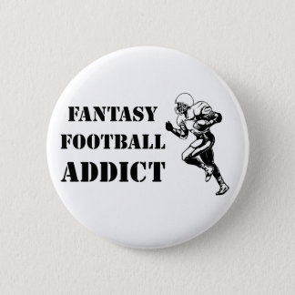 Fantasy Football Addict 2 Pinback Button