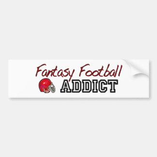 Fantasy Football Addict Bumper Sticker