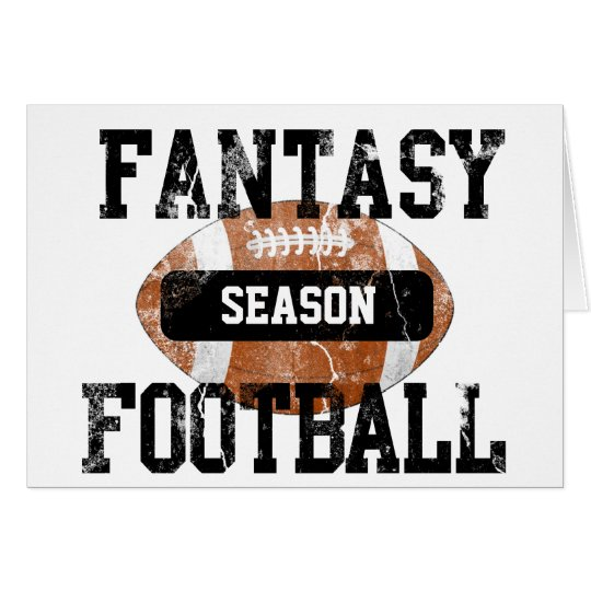 Fantasy Football Addict Card