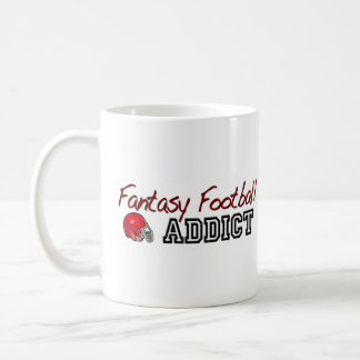 Fantasy Football Addict Coffee Mug