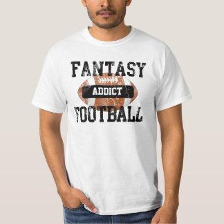 Fantasy Football Addict, Grunge Varsity Style T-Shirt