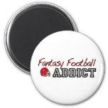 Fantasy Football Addict Magnets