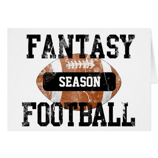 Fantasy Football Addict Stationery Note Card