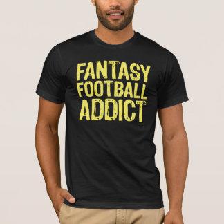 Fantasy Football Addict Yellow T-Shirt