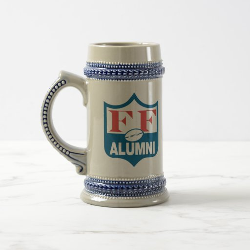 Fantasy Football Alumni Beer Stein 18 Oz Beer Stein