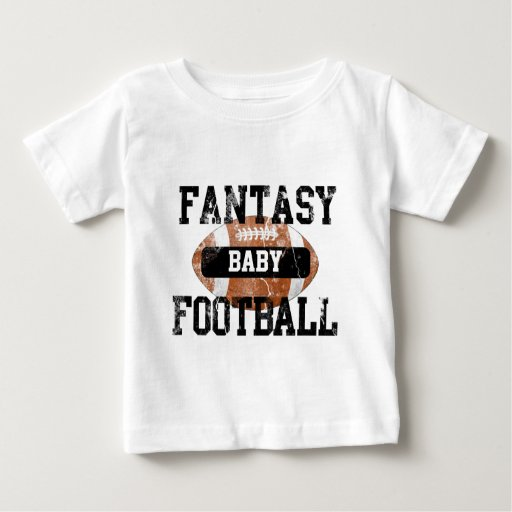 Fantasy Football Baby Tee Shirts