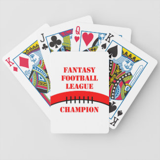 Fantasy Football Bicycle Playing Cards