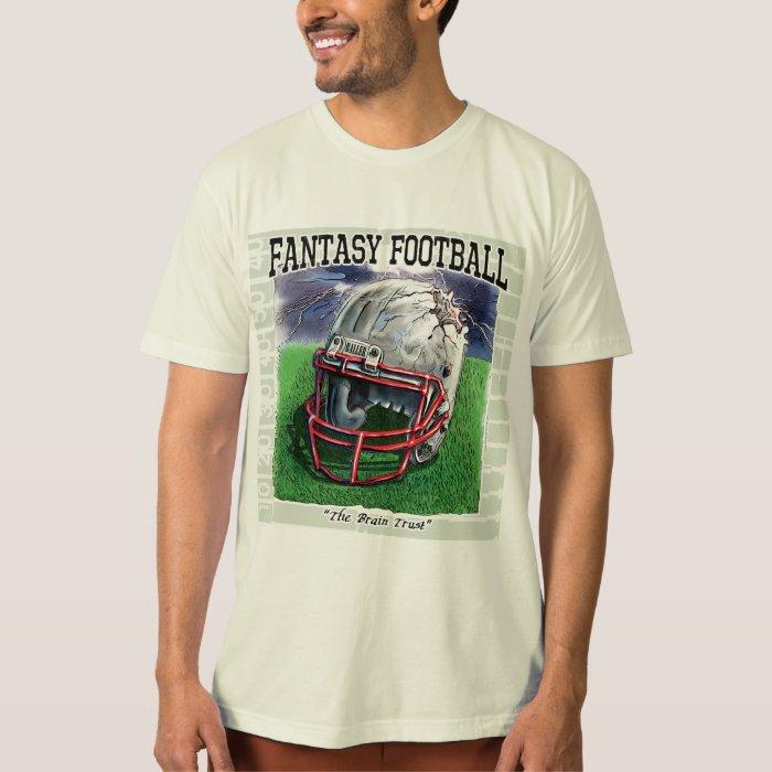 Fantasy Football Brain Trust Gear T-Shirt