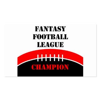 Fantasy Football Double-Sided Standard Business Cards (Pack Of 100)