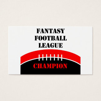 Fantasy Football Business Card