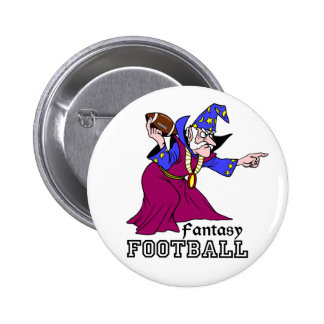 Fantasy Football Pinback Buttons