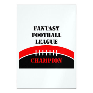 Fantasy Football Card