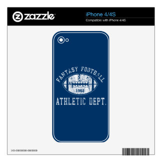 Fantasy Football case iPhone 4S Decal