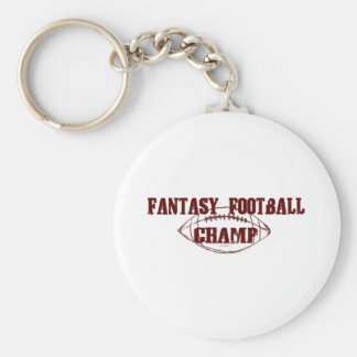 Fantasy Football Champ Keychain