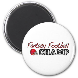 Fantasy Football Champ Fridge Magnets