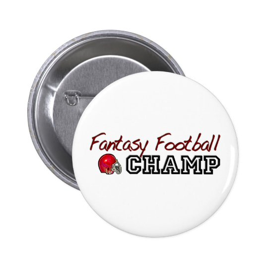 Fantasy Football Champ Pinback Button
