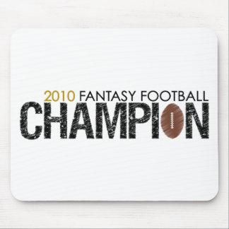 fantasy football champion 2010 mousepads