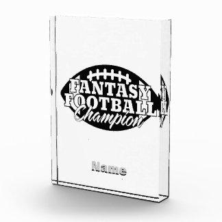 Fantasy Football Champion Acrylic Award