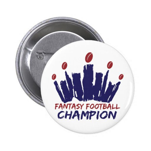 Fantasy Football Champion Pins