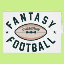 Fantasy Football Champion Card