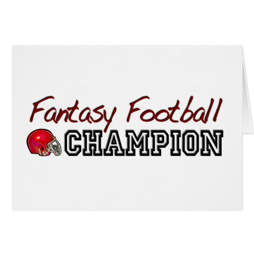 Fantasy Football Champion Cards