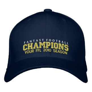 Fantasy Football  Champion Embroidered Hats